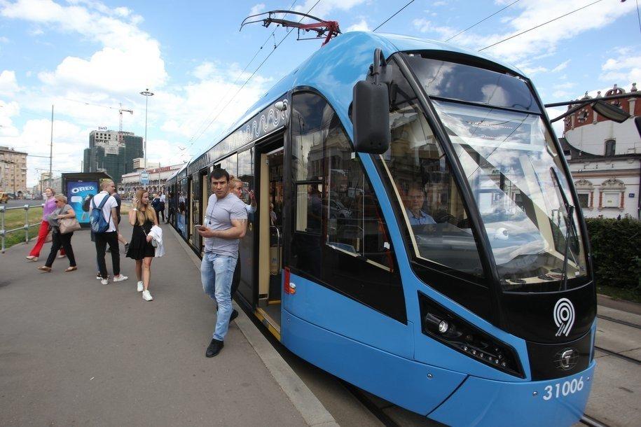 Трамваи №1 и 16 на юге Москвы могут следовать с увеличенными интервалами 13 октября