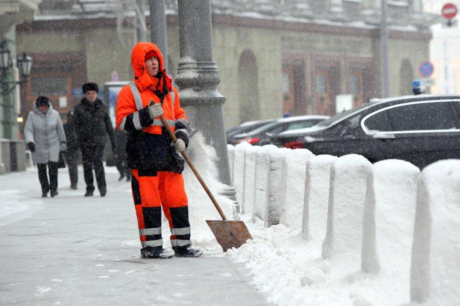Выпавший в Москве снег пролежит до конца октября