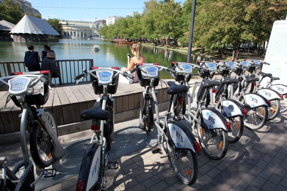 В столичном велопрокате появились электровелосипеды новой модели