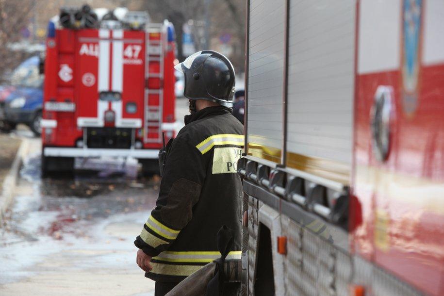 Сотрудники МЧС Москвы ликвидировали возгорание в районе Свиблово
