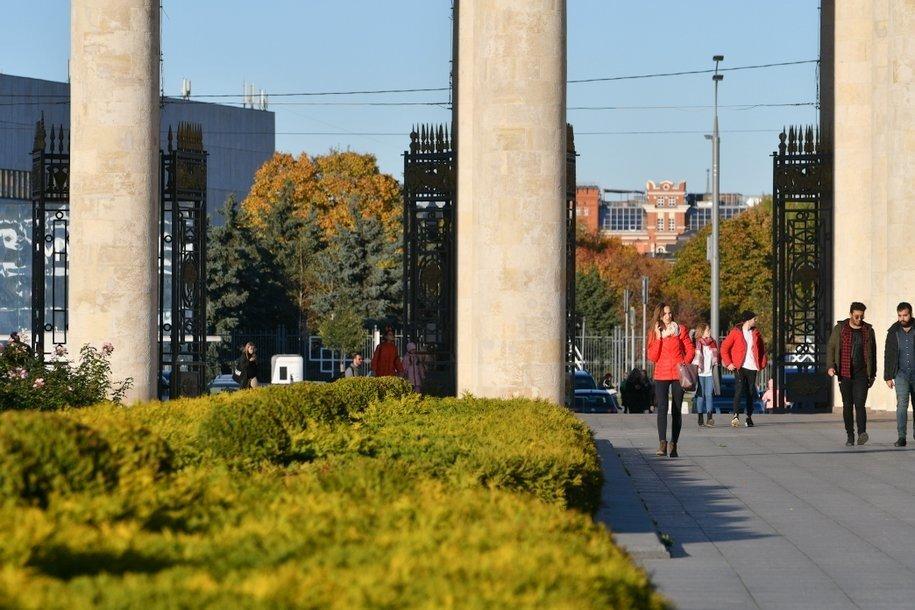 Температура воздуха в Москве 19 октября побила рекорд 70-летней давности