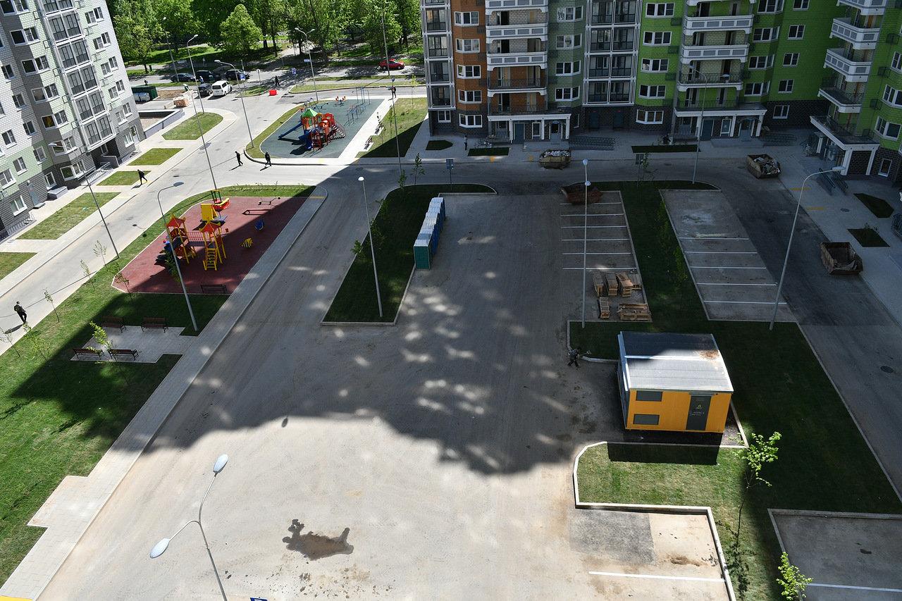Более 1,2 тыс. дворов благоустроили в Московской области с начала 2018 года