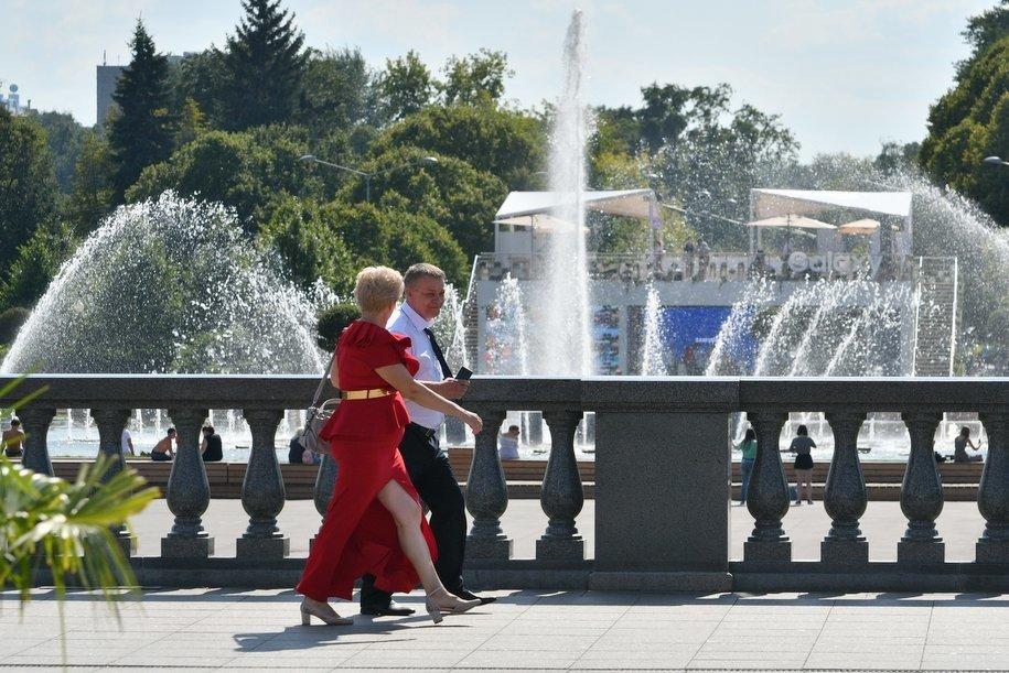 «Светомузыкальный» фонтан в Парке Горького станет ярче и динамичнее после ремонта