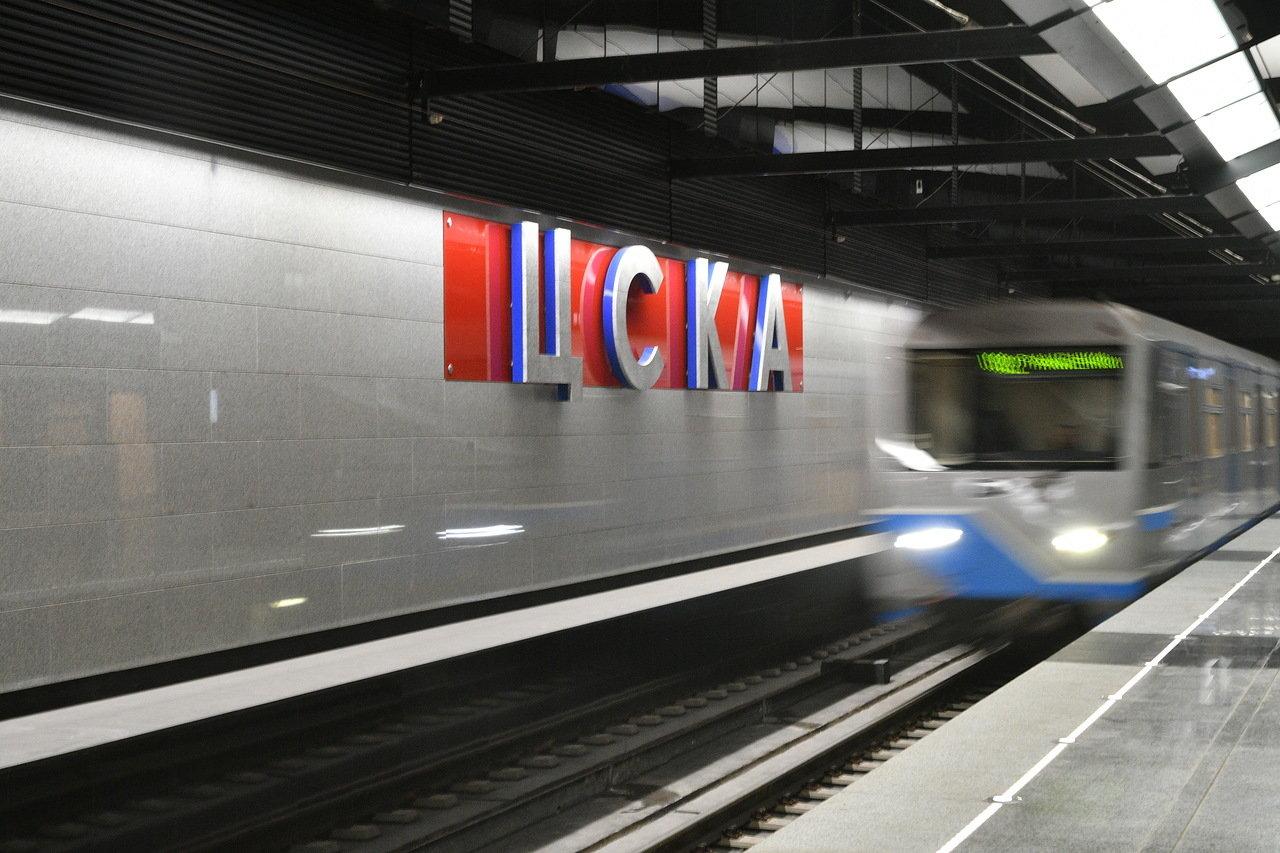 Движение автотранспорта в районе метро ЦСКА будет перекрыто 14 октября