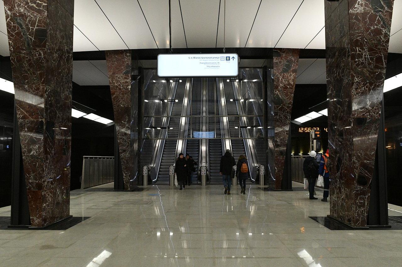 Ремонт 45 эскалаторов в столичном метро завершили с начала года