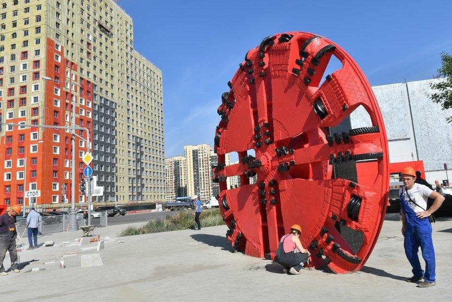 С начала года в Москве построили более 12 км тоннелей
