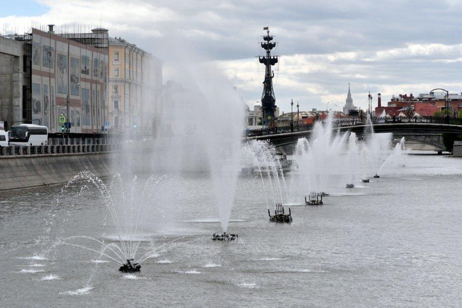 В Москве завершена консервация 69 фонтанов