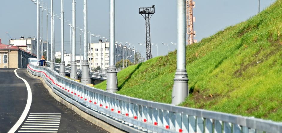 Почти сто километров дорог построили в столице
