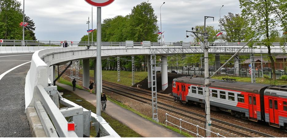 Шесть путепроводов над железной дорогой построят до конца 2021 года