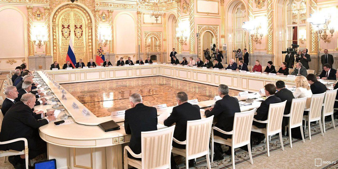 Мэр Москвы принял участие в заседании Совета при Президенте по науке и образованию