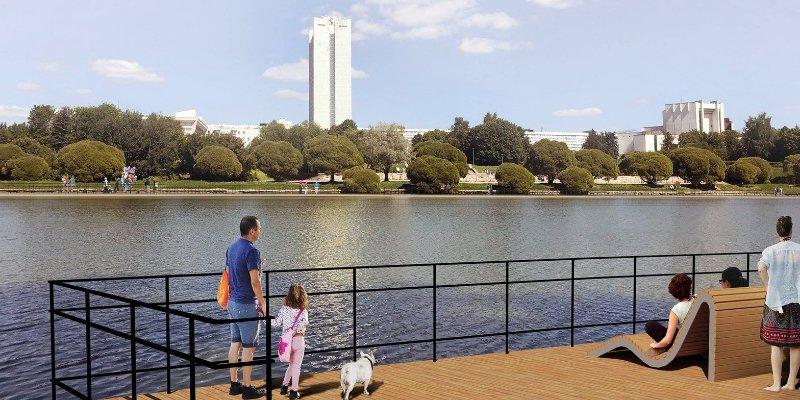 В Зеленограде началось благоустройство парка Победы