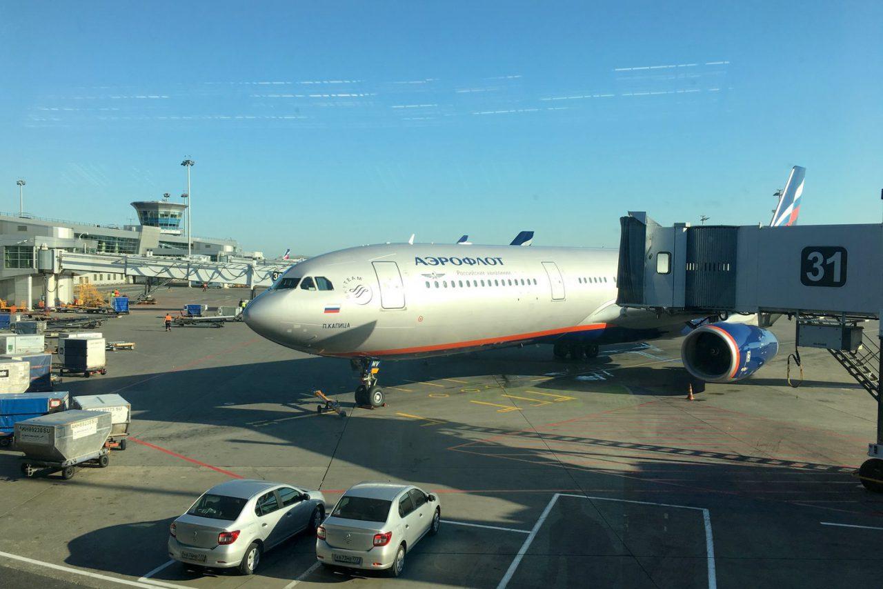 Во Внуково опоздавший пассажир пытался остановить взлетающий самолёт