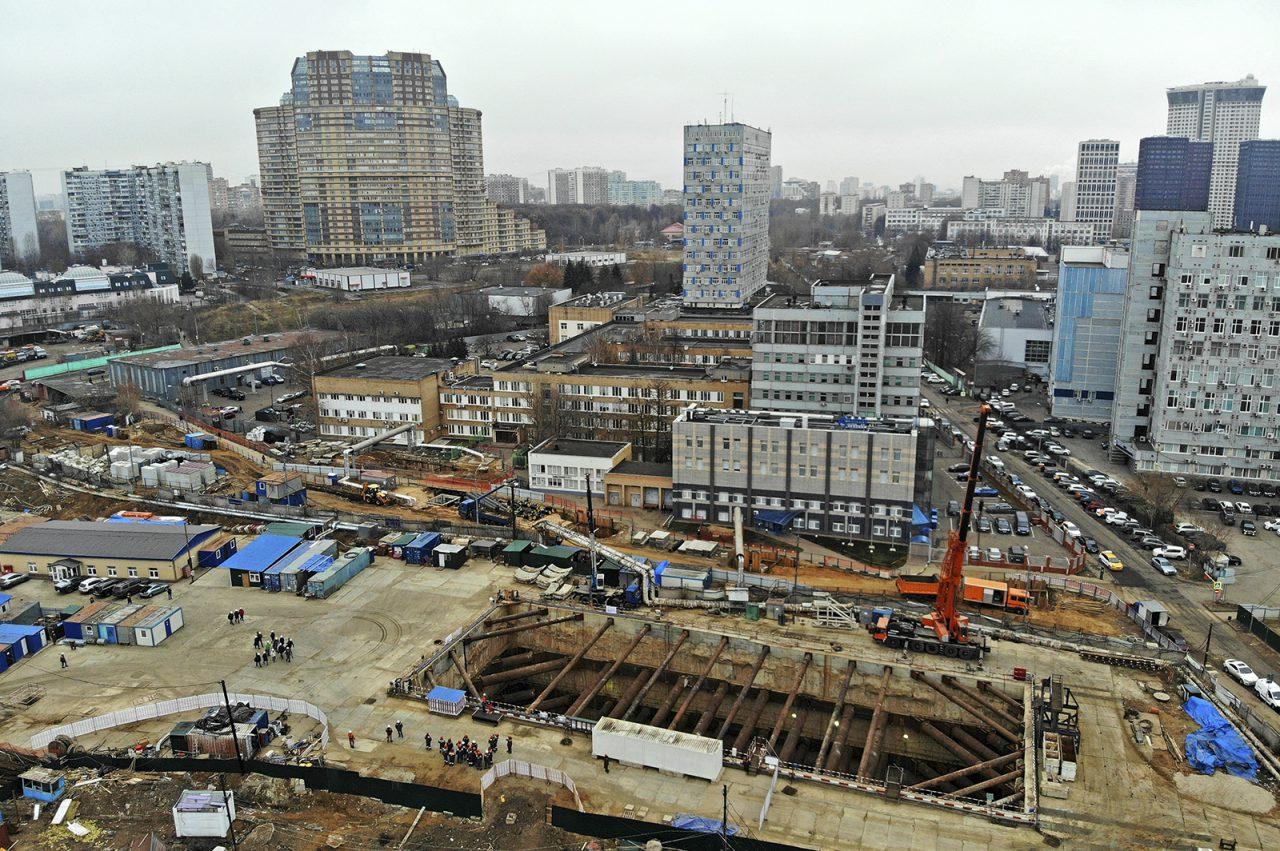 Началась проходка тоннеля БКЛ от станции «Воронцовская» до станции «Улица Новаторов»
