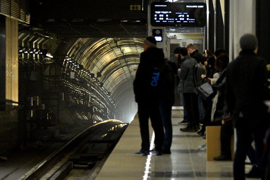 Движение поездов в мосметро осуществляется в штатном режиме