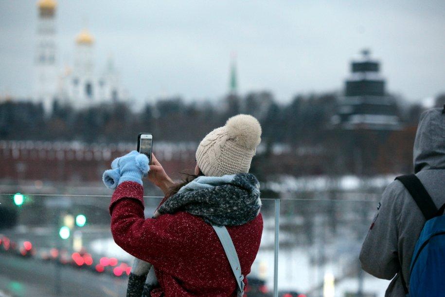 Минувшая ночь в Москве стала самой морозной с начала осени