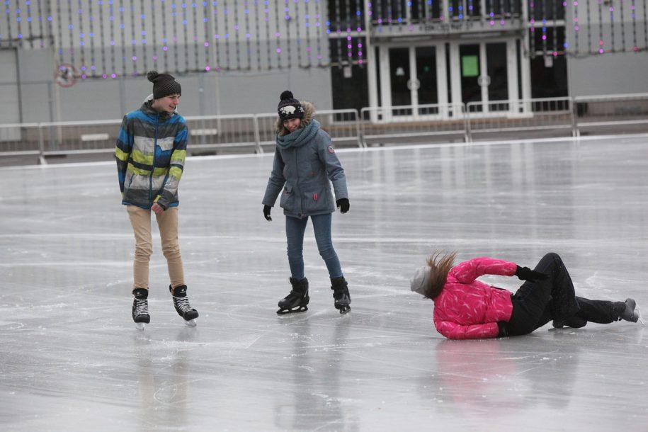 Каток в Парке Горького откроется 22 ноября