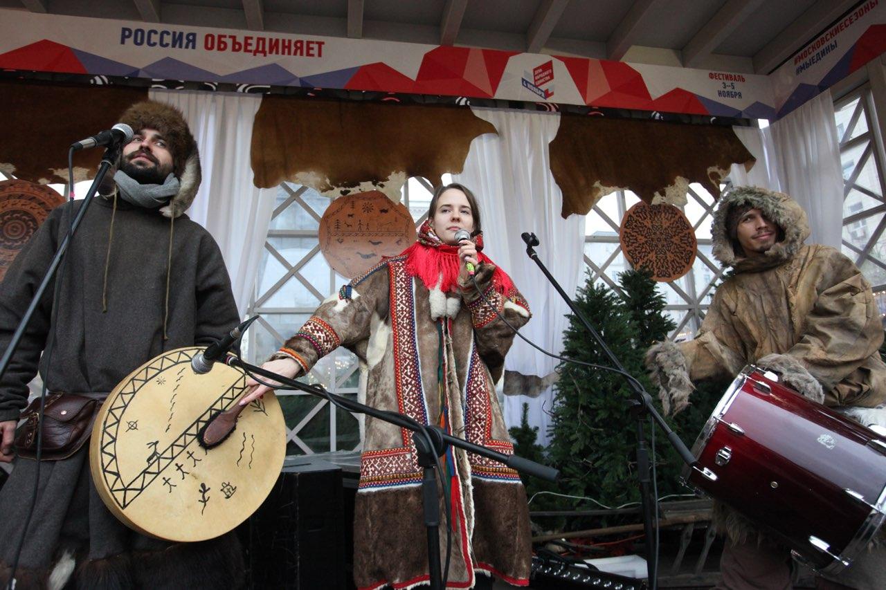 В мероприятиях посвящённых Дню народного единства в России приняло более 3,2 млн человек