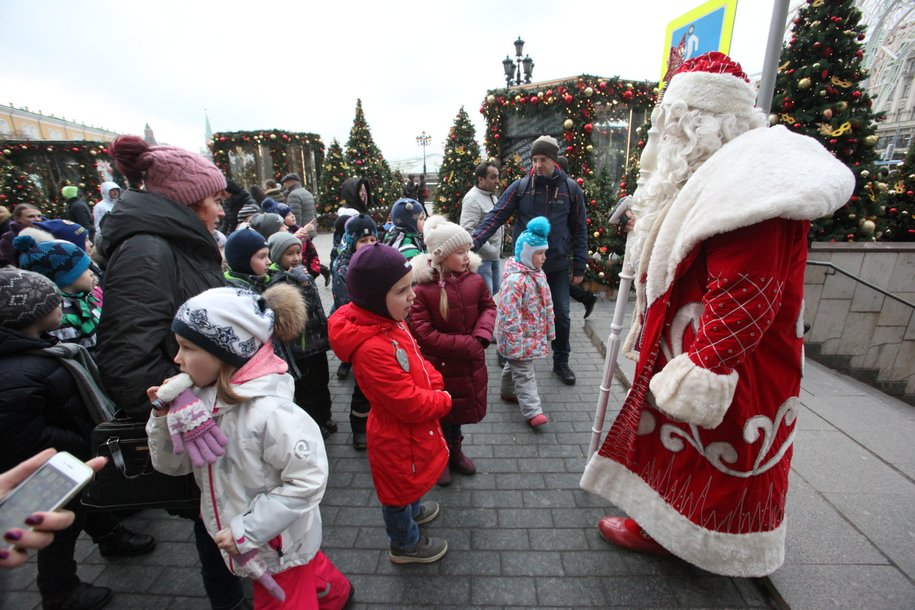 Дед Мороз из Великого Устюга приедет в Московский зоопарк 1 декабря