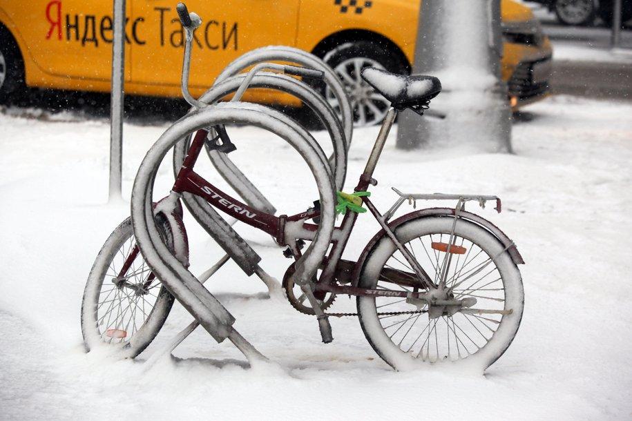 В конце недели в Москву придёт снегопад и небольшое потепление