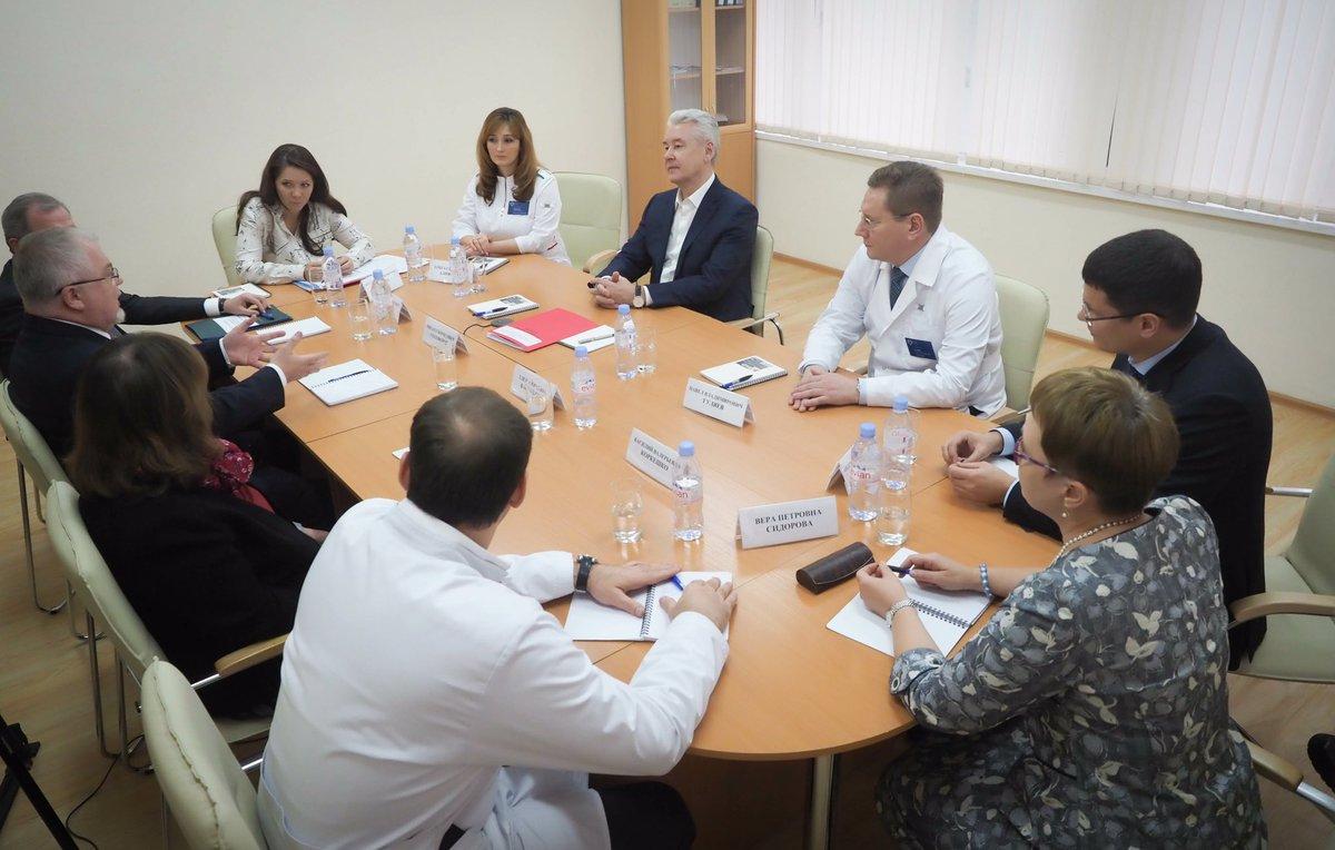 Сергей Собянин поздравил педиатров с профессиональным праздником
