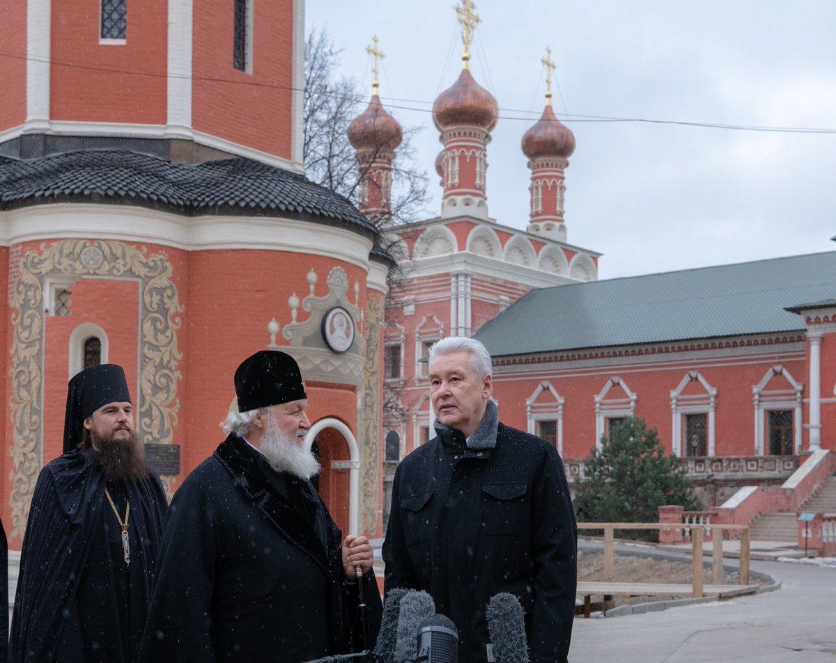 С 2011 года столичные власти отреставрировали 85 московских храмов и монастырей