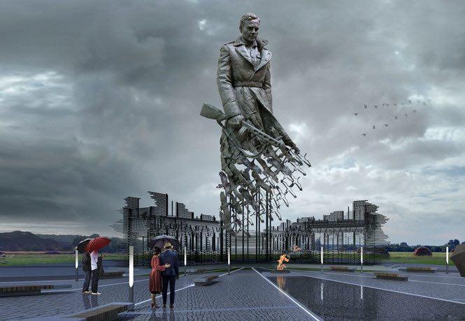 Владимир Путин одобрил строительство мемориала участникам Ржевской битвы