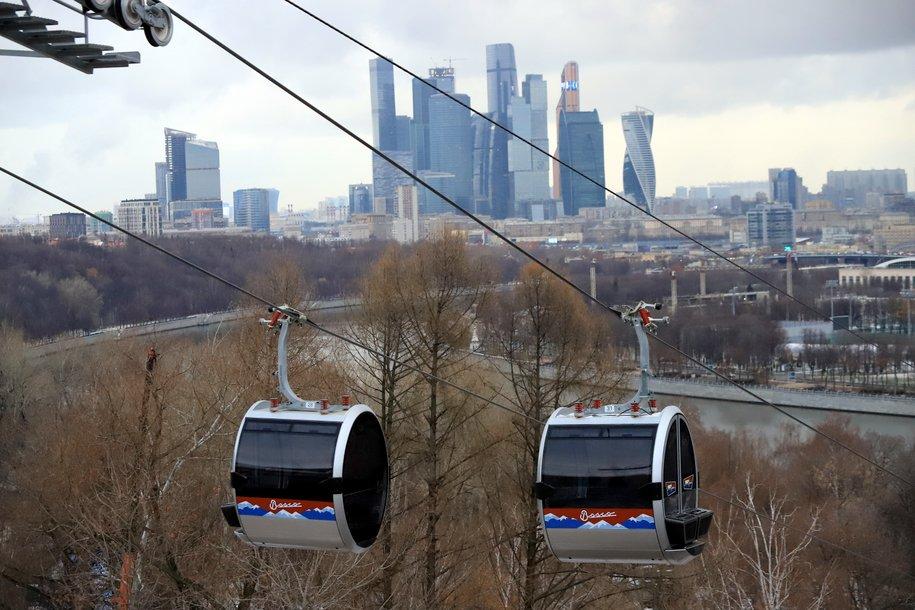 Стоимость проезда по канатной дороге начинается от 400 рублей