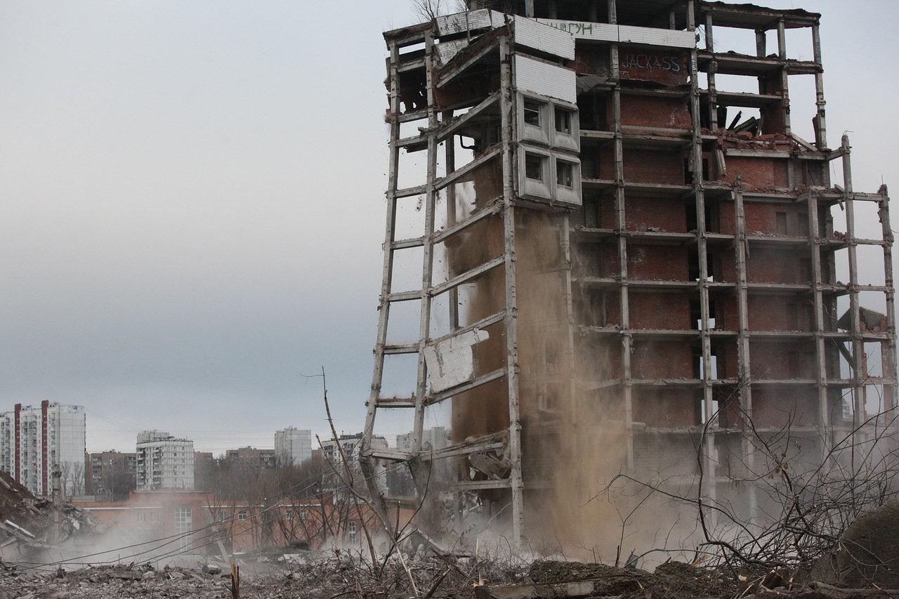 Основные работы по демонтажу Ховринской больницы практически завершены