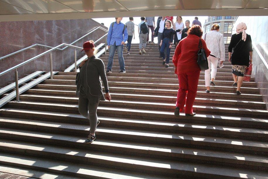 Под жд путями Павелецкого направления появится подземный пешеходный переход
