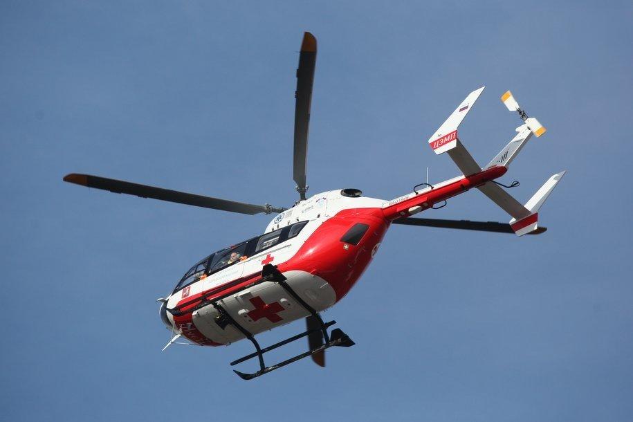 С начала года свыше 470 человек были эвакуированы в лечебные учреждения Москвы вертолетами МАЦ