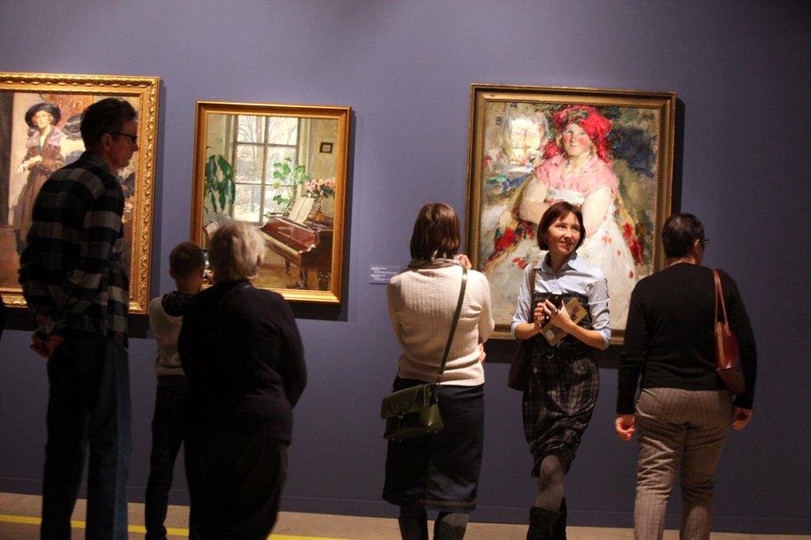 Более 100 тыс. человек посетили выставку «Сокровища музеев России» со дня ее открытия