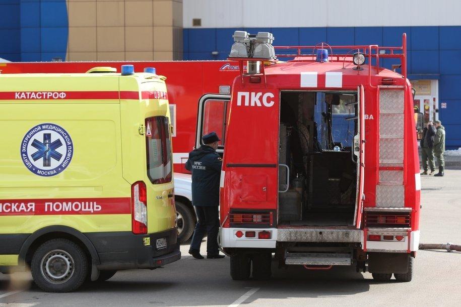 На месте пожара на НПЗ в Капотне ПДК вредных примесей в воздухе не выявлено