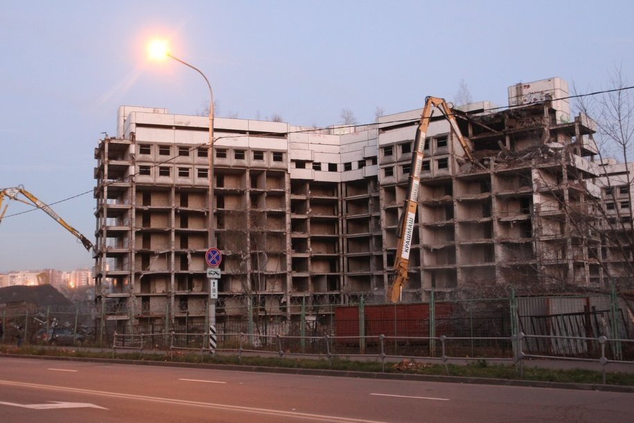 Жилье на месте Ховринской больницы начнут строить в апреле 2019 года
