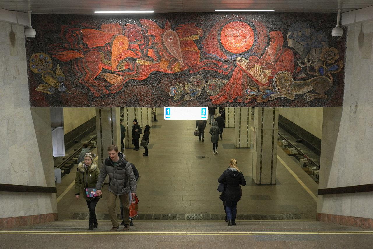 Северный вестибюль станции «Люблино» будут закрывать в 22:00 до 9 ноября