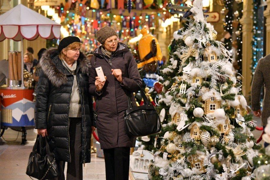 Монтаж новогодних украшений в центре столицы начнется 2 декабря