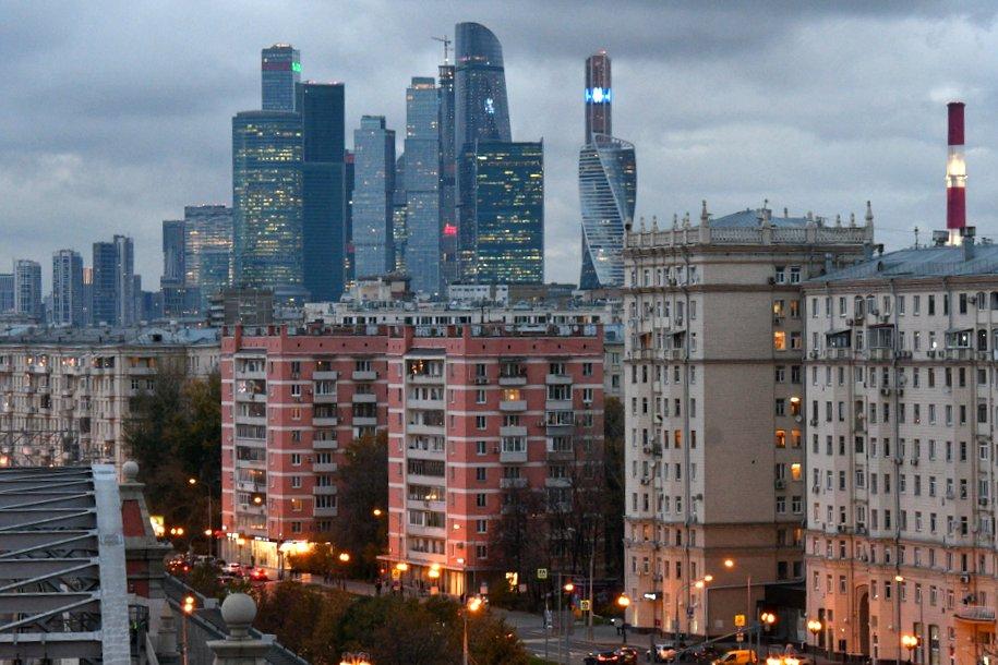 Загруженность дорог в Москве оценивается в семь баллов
