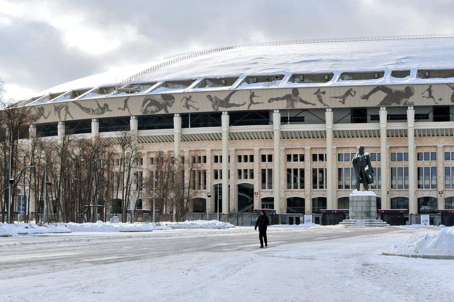 Некоторые улицы возле стадиона «Лужники» будут перекрыты