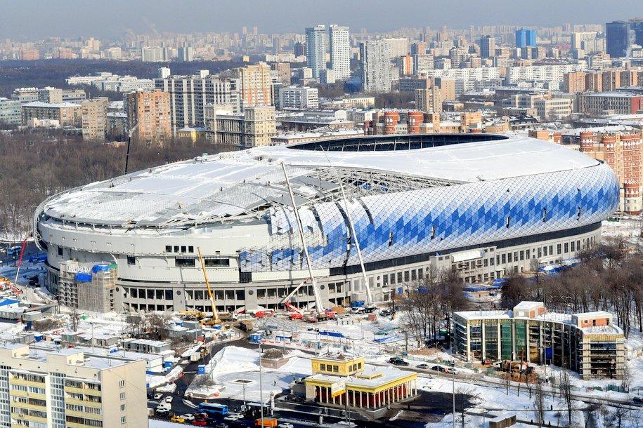В Москве завершилась реконструкция стадиона «Динамо» им. Льва Яшина