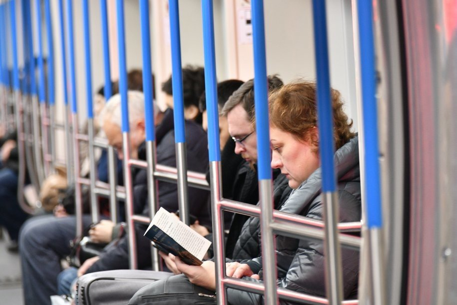В московском метрополитене запустили тематический поезд «Дальневосточный экспресс»