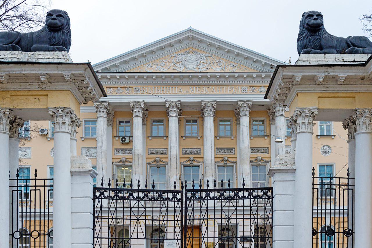 Для одного из корпусов городской больницы им. И.В.Давыдовского запроектирован лифт