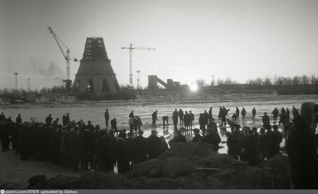 История проектирования телевизионной  Останкинской башни