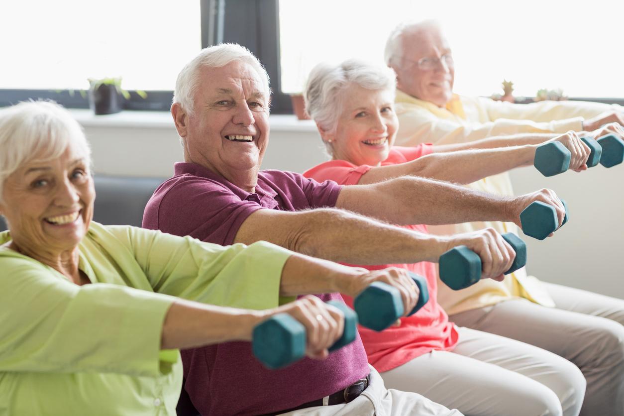 Московские пенсионеры стали чаще заниматься фитнесом