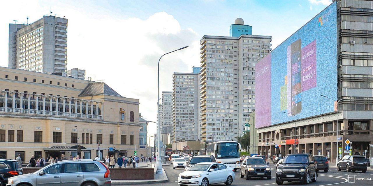 Объявления в Москве транслируют 465 цифровых мониторов