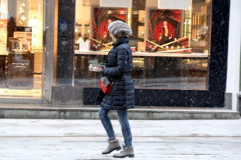 Потепление с мокрым снегом и гололедом сменится морозами к концу недели