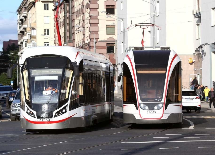 Ночные трамваи  № 3 возобновили свою работу