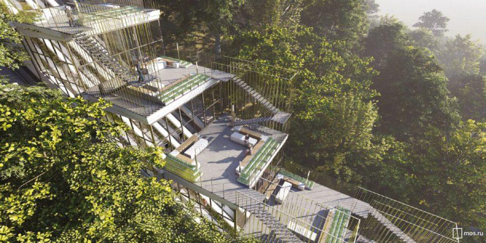 Эскалаторная галерея на Воробьевых горах будет отреставрирована