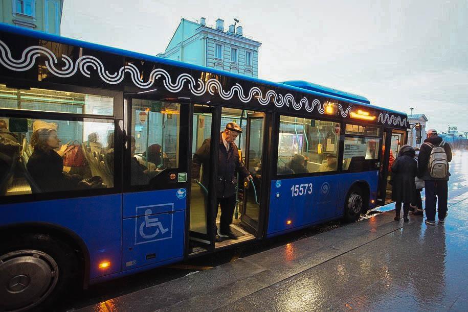 В Москве заработали новые выделенные полосы