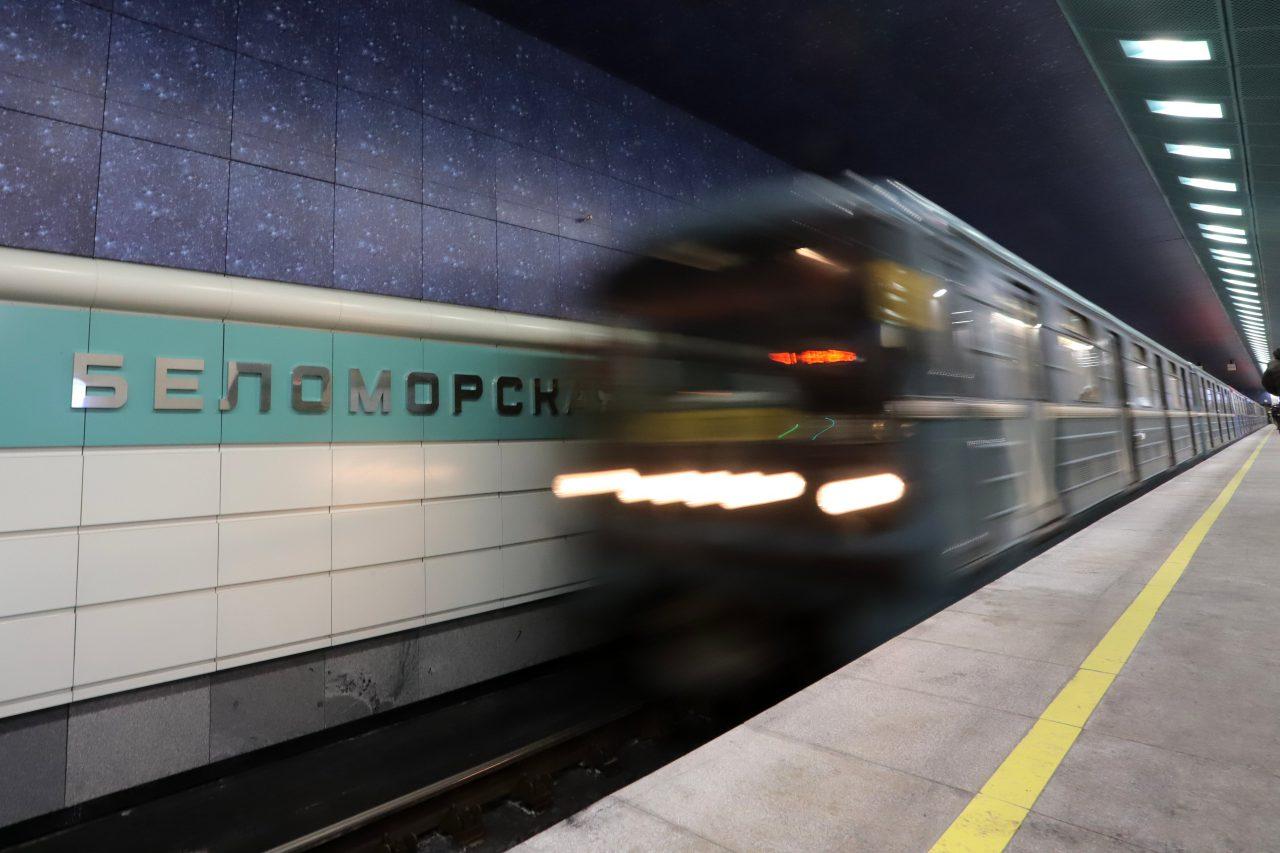Станцией «Беломорская» воспользовались более 160 тысяч человек с момента открытия