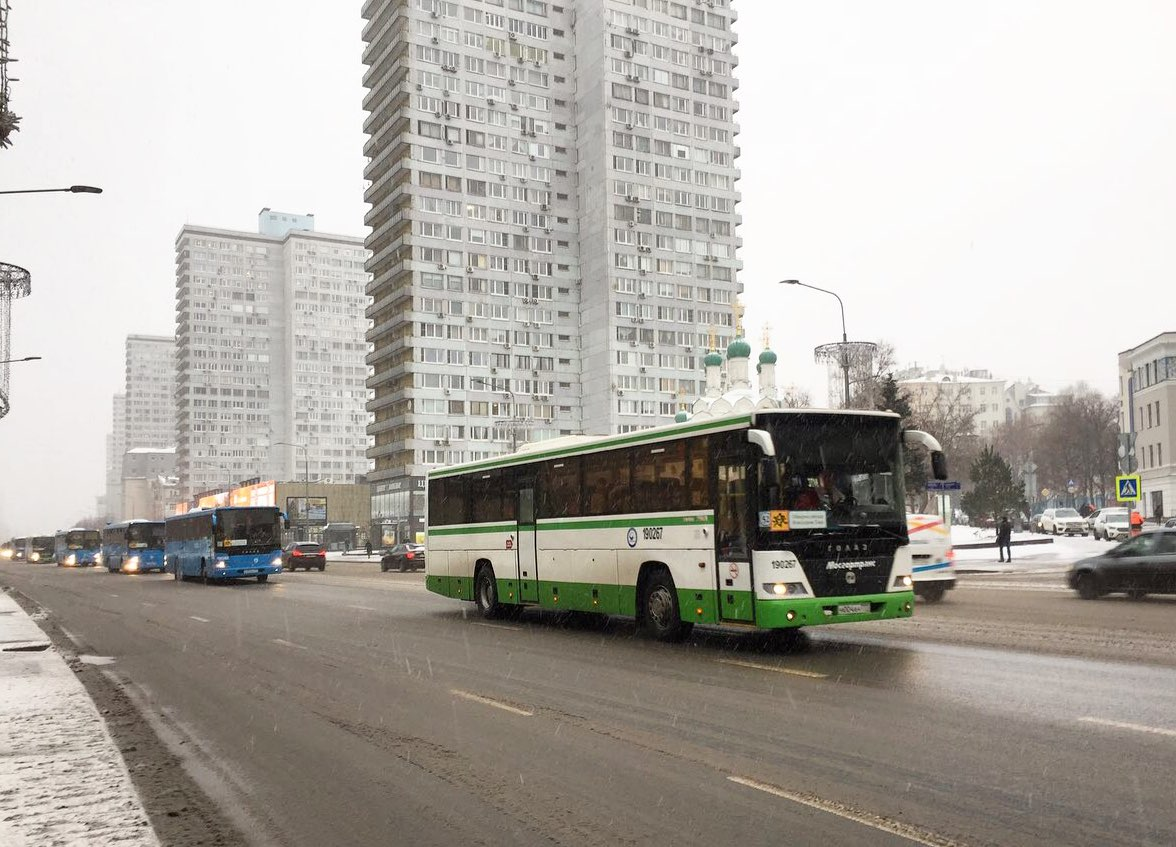 ЦОДД рекомендовал горожанам ехать в центр на общественном транспорте
