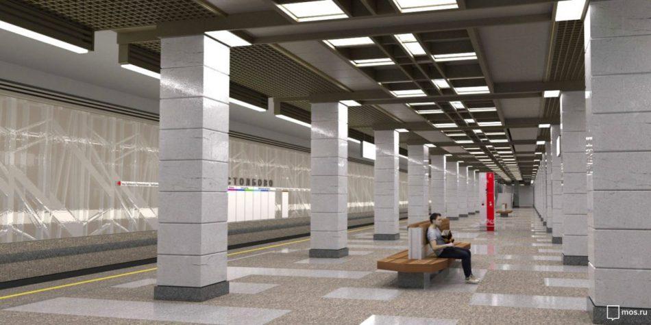 Движение по участку Сокольнической линии от станции «Саларьево» до станции «Столбово» откроют в апреле-мае 2019 года